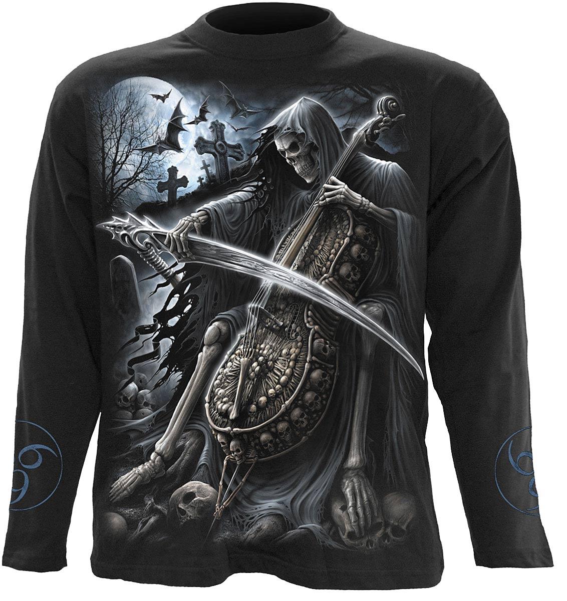 SPIRAL Symphony Of Death Longsleeve T-Shirt Black K013M301