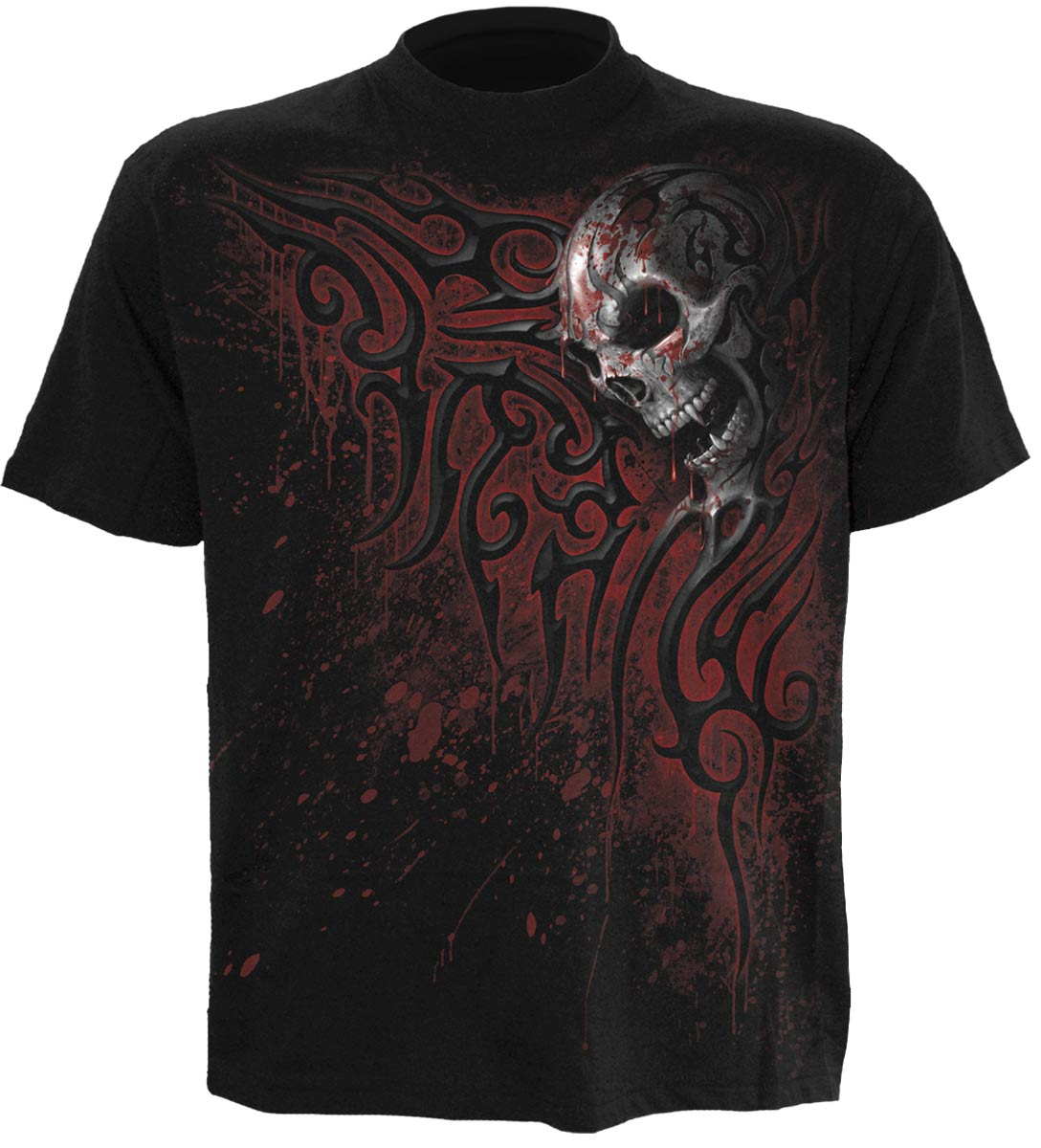 SPIRAL Death Blood T-Shirt schwarz M015M101
