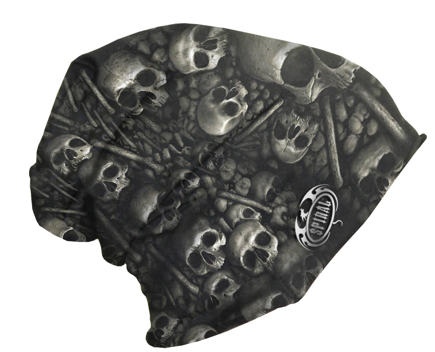 SPIRAL Catacomb Light Cotton Beanies Black T111A801