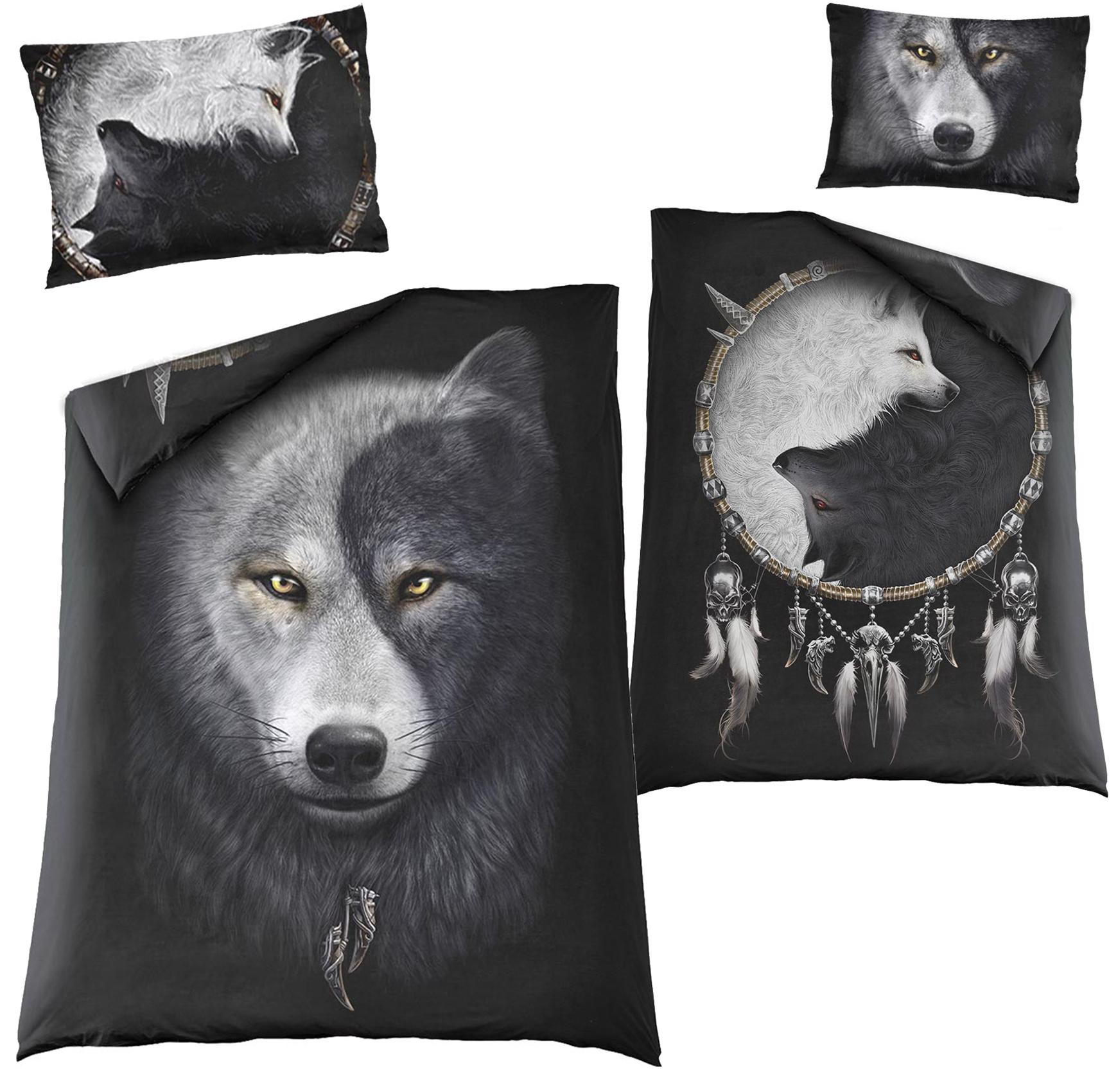 SPIRAL Wolf Chi Bettwäsche beidseitig bedruckt  T118A508